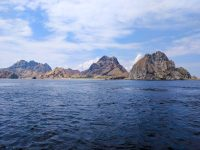 On our way to Komodo Island, departing from Padar Island, Komodo National Park.