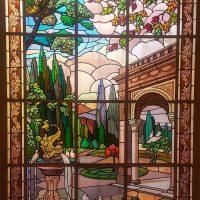 Beautiful tainted glass