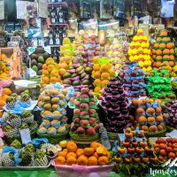 Beautiful fruits presentation