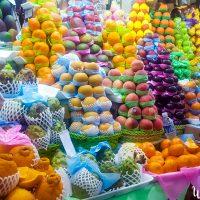 Beautiful fruits presentation