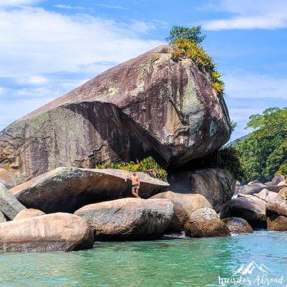Paradisiac landscape in Trinidade