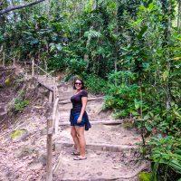 Beginning of teh jungle trail