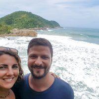 View over Praia do Meio