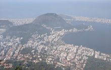 View from the top of Corcovado
