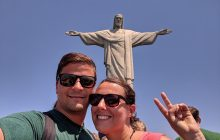 We managed to take the classic photos with Christ the Redeemer