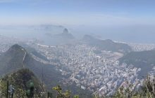 Panorama from the top of Corcovado
