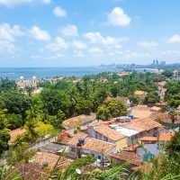 View over Olinda with Recide in the back