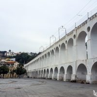 They purposely destroyed the buildings on that place to offer a better view on the viaduc...