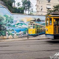 A tram and a tram