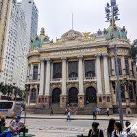 The Municipal Theater of Rio de Janeiro