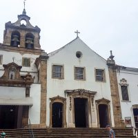 The church Santo Antonio