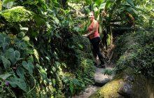 Perine exploring Parque Lage