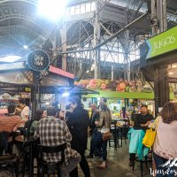 Coffee Town in the middleof Mercado San Telmo
